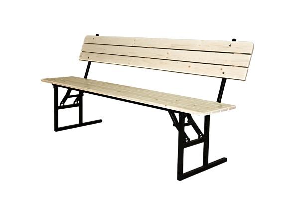Скамейка мод.2 Реечный массив 3