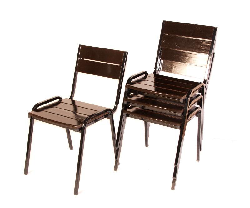 стул стопируемый складной