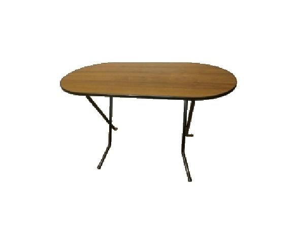стол овальный для дачи