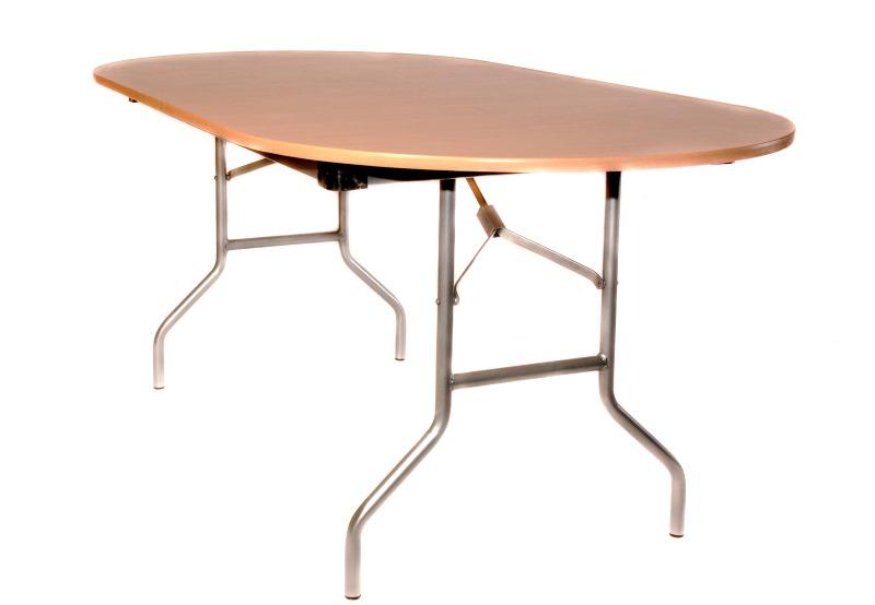 купить складной овальный стол